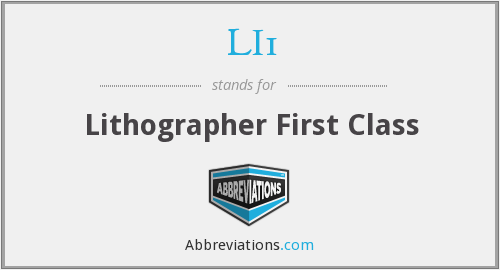 What does LI1 stand for?