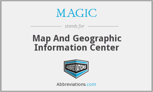 MAGIC - Map And Geographic Information Center