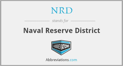 NRD - Naval Reserve District