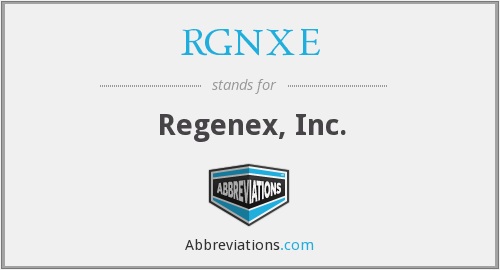 What does RGNXE stand for?
