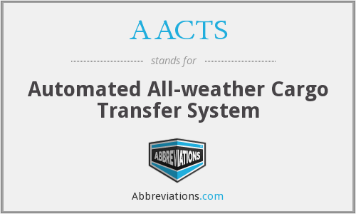 AACTS - Automated All-weather Cargo Transfer System