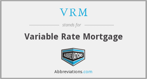 What does VRM stand for?