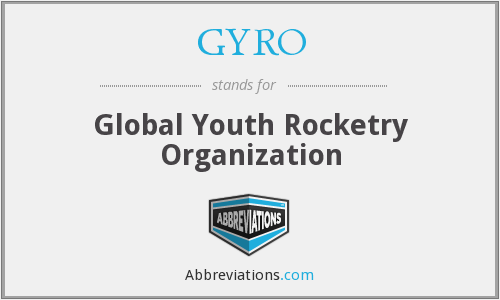 GYRO - Global Youth Rocketry Organization