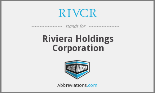 What does RIVCR stand for?