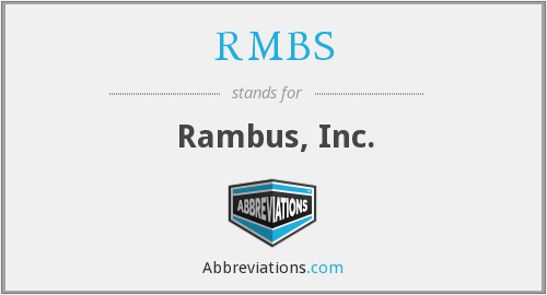 What does RMBS stand for?