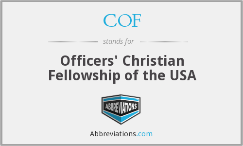 COF - Officers' Christian Fellowship of the USA