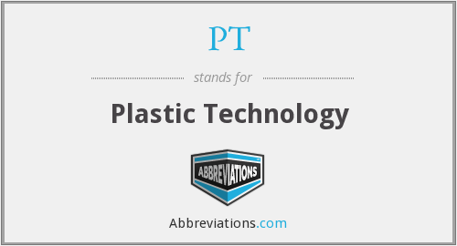 PT - Plastic Technology