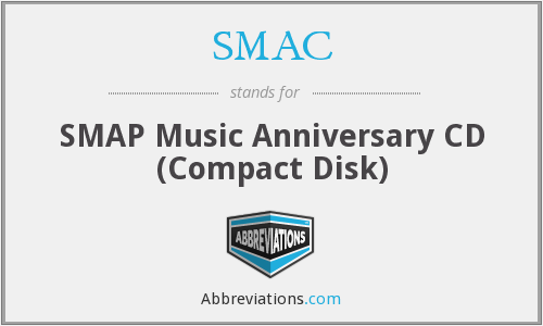 SMAC - SMAP Music Anniversary CD (Compact Disk)