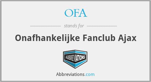 OFA - Onafhankelijke Fanclub Ajax
