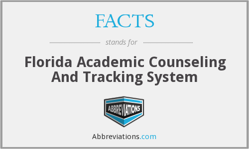 FACTS - Florida Academic Counseling And Tracking System