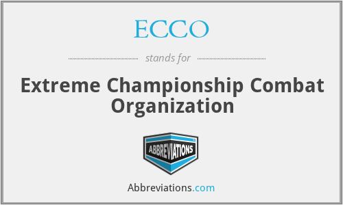 ECCO - Extreme Championship Combat Organization