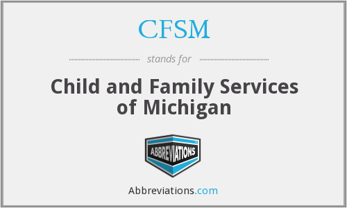 CFSM - Child and Family Services of Michigan