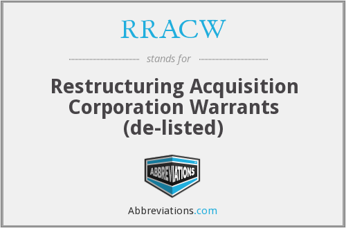 What does RRACW stand for?