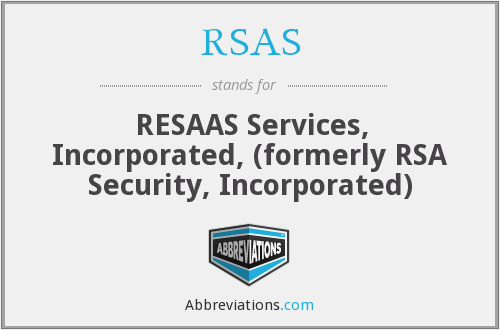 What does RSAS stand for?