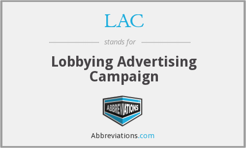 LAC - Lobbying Advertising Campaign