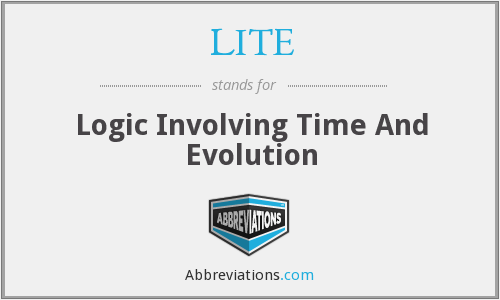 LITE - Logic Involving Time And Evolution