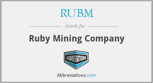 RUBM - Ruby Mining Company