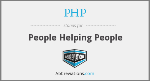 PHP - People Helping People