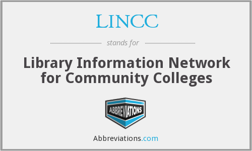 What does LINCC stand for?