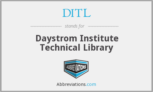 DITL - Daystrom Institute Technical Library