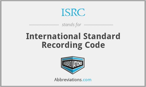 ISRC - International Standard ...