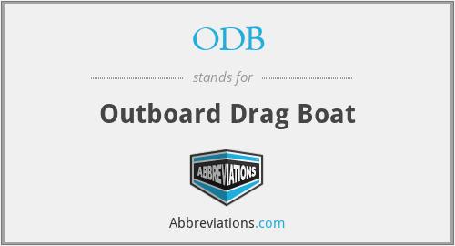 ODB - Outboard Drag Boat