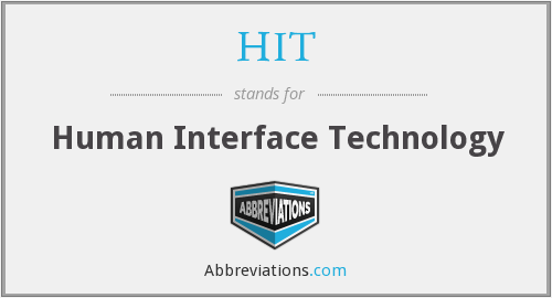 HIT - Human Interface Technology