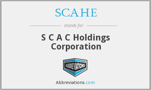 What does SCAHE stand for?