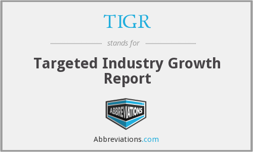 TIGR - Targeted Industry Growth Report