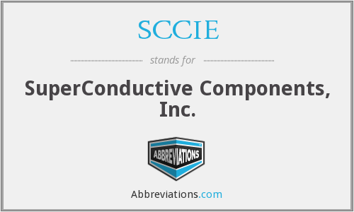 What does SCCIE stand for?