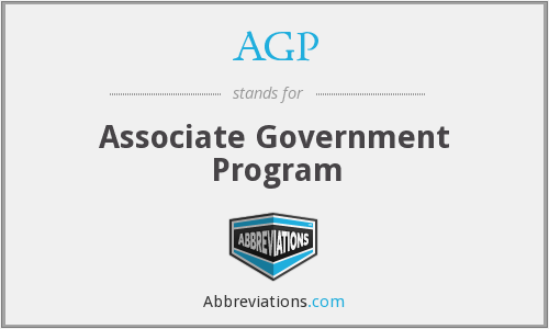 AGP - Associate Government Program