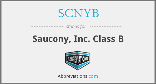 What does SCNYB stand for?