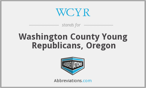 WCYR - Washington County Young Republicans, Oregon