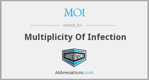 MOI - Multiplicity Of Infection