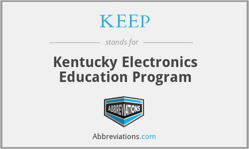 KEEP - Kentucky Electronics Education Program