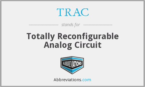 TRAC - Totally Reconfigurable Analog Circuit