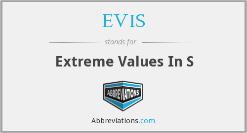 EVIS - Extreme Values In S