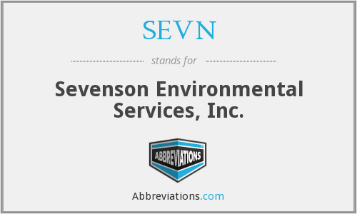SEVN - Sevenson Environmental Services, Inc.
