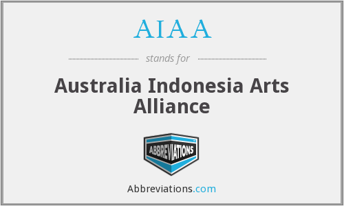 AIAA - Australia Indonesia Arts Alliance