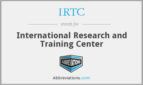 What does IRTC stand for?