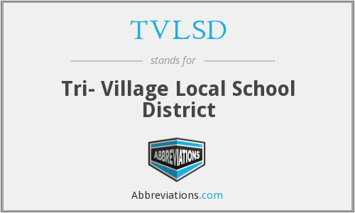TVLSD - Tri- Village Local School District