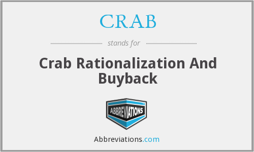 CRAB - Crab Rationalization And Buyback