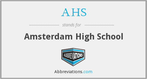 AHS - Amsterdam High School