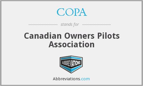 COPA - Canadian Owners Pilots Association