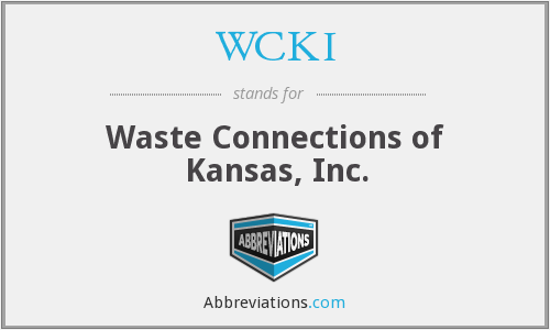 What does WCKI stand for?
