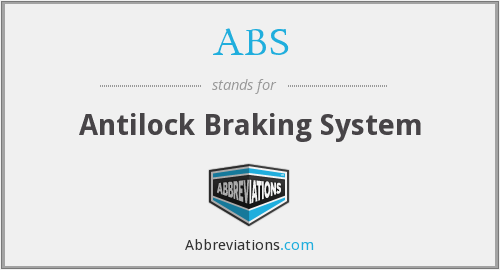 ABS - Antilock Braking System