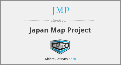 JMP - Japan Map Project