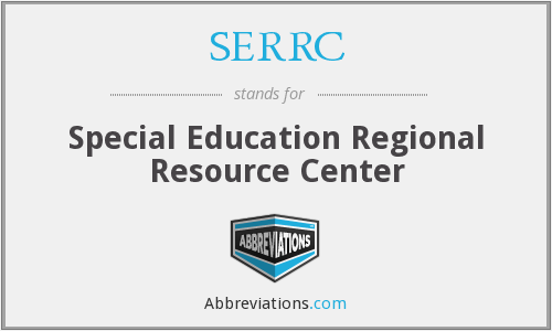 SERRC - Special Education Regional Resource Center