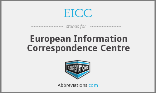 EICC - European Information Correspondence Centre