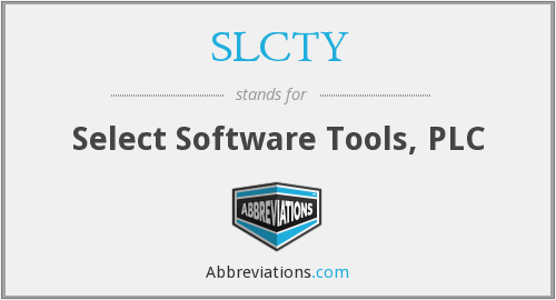 What does SLCTY stand for?